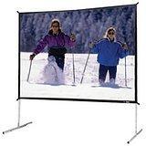 Da-Lite Fast-Fold Deluxe Screen System - 69 x 120 - Da-Mat -