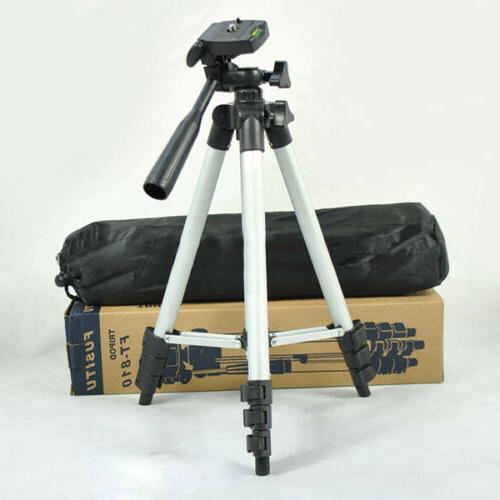 flexible portable aluminum tripod stand and bag