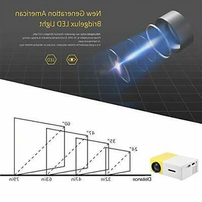 Fosa 1080P LED Projector Home Cinema