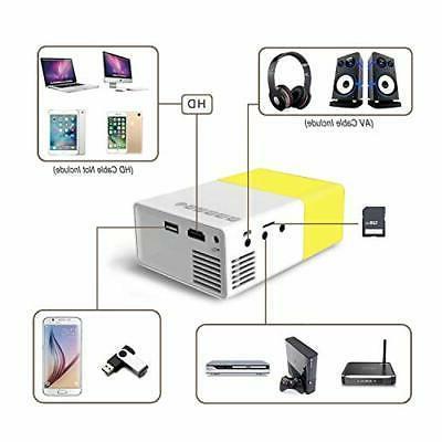 Fosa Projector Portable 1080P LED Cinema