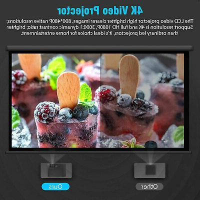 Full HD 2500 Lumens Portable