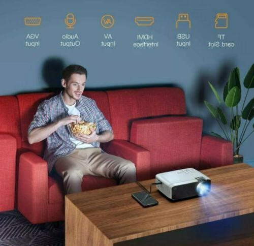 APEMAN 4000 Portable CInema Video Mini HDMI