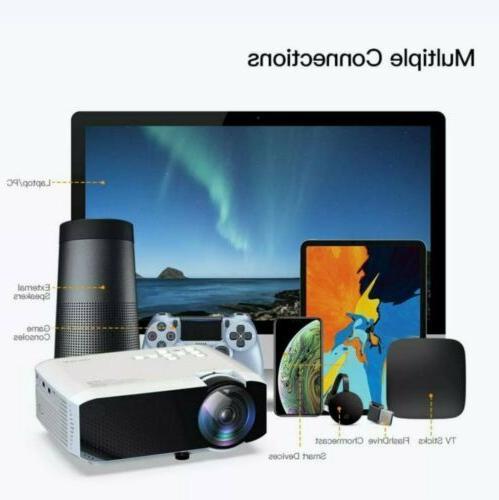 APEMAN HD 4000 Lumens CInema Video Mini HDMI