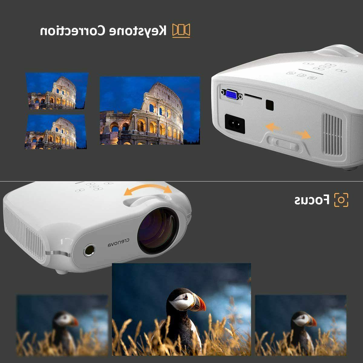 """Video Mini Theater HDMI Portable 200"""" Screen"""