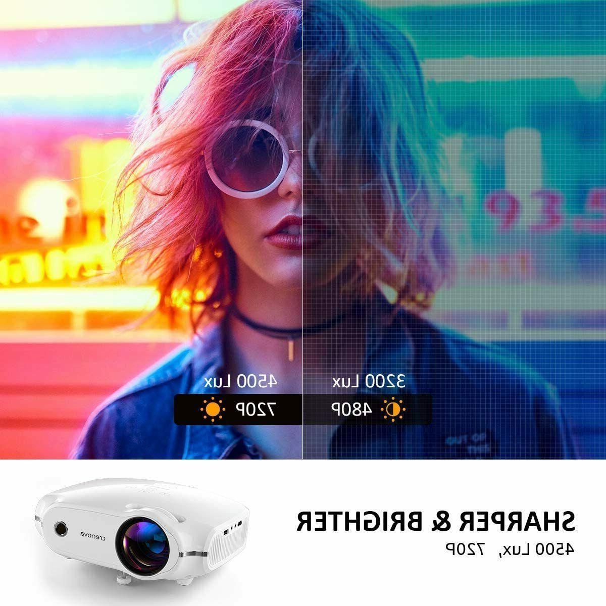 1080P Video Projector Mini Home Theater HDMI Portable