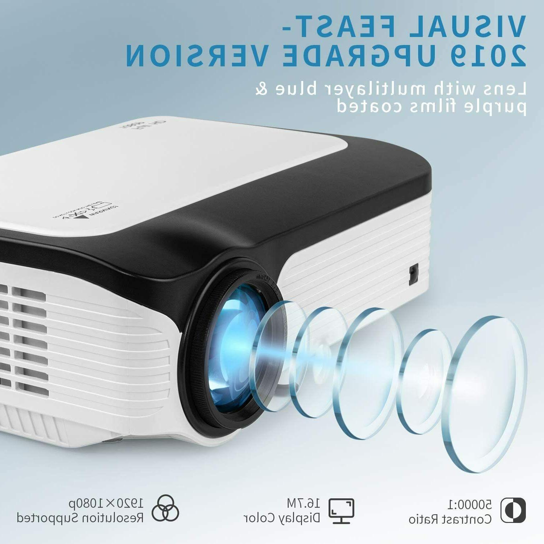 Full HD 1080P Lumens Portable Theater Video HDMI