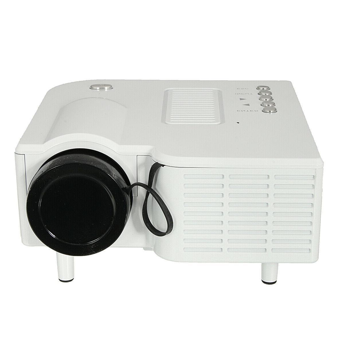 Full HD Theater LED Mini Multimedia Projector Cinema USB HDMI