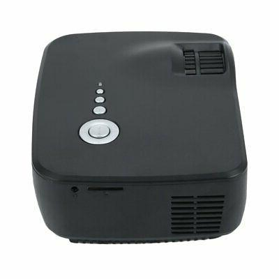 1080P Mini HD 3D Projector Home Theater USB AV