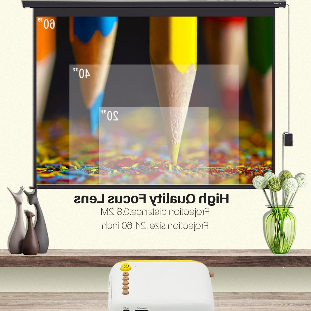 Full Projector LED Multimedia Home