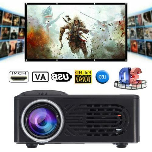 full hd 1080p movie mini portable projector