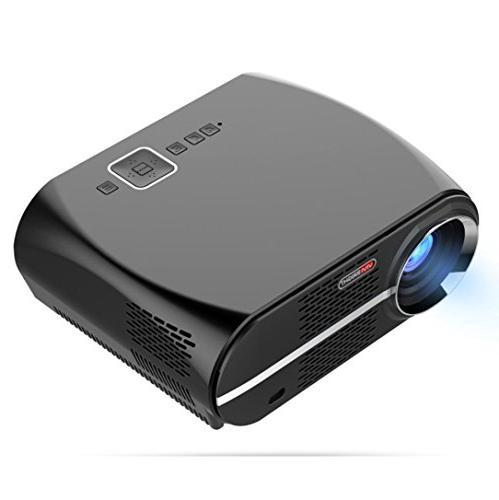 GP100 Projector Full-HD Quality Video Lumens 90-240V Home