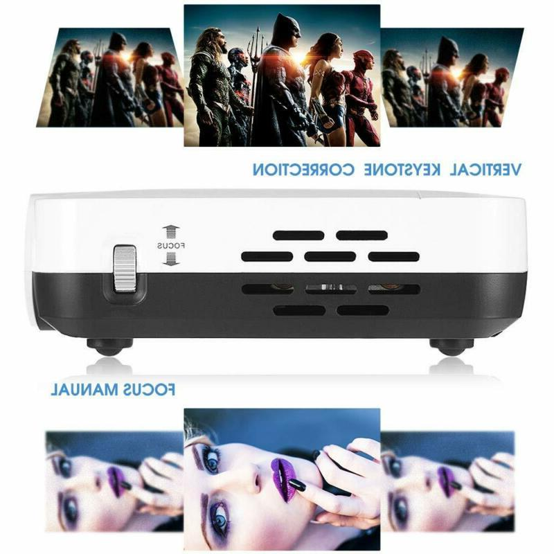 Wowoto 3500 Mini Projector Led Dlp Real Mini Home
