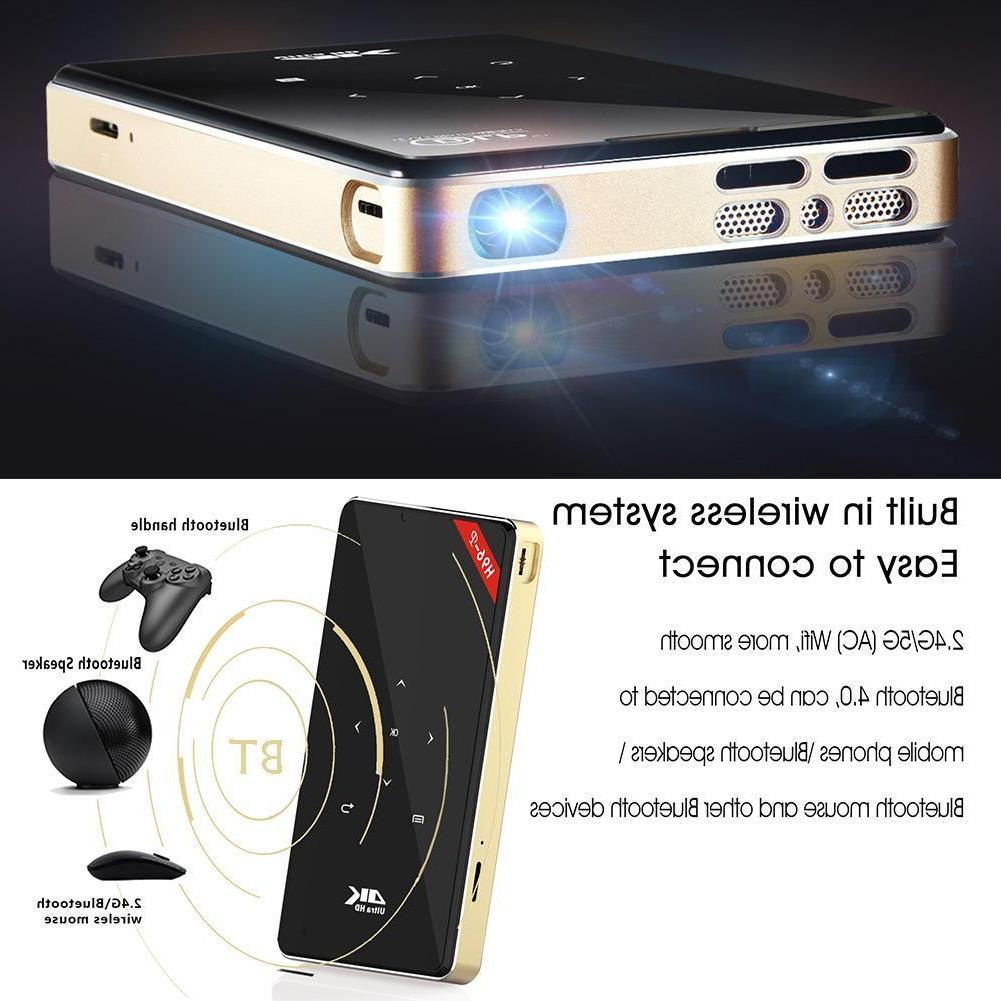 H96-P Mini Theater Projector Android6.0 16GB Lot