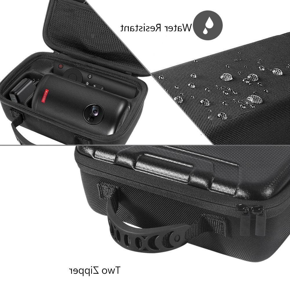 Hard EVA Travel Carrying Bag Storage Box Case for Nebula Capsule II Smart <font><b>Projector</b></font> Drive and <font><b>Accessories</b></font>