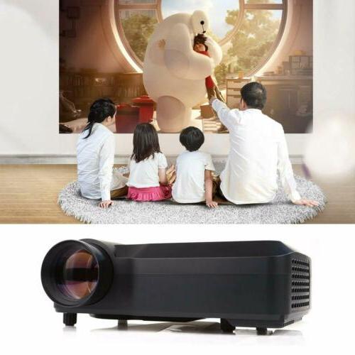 Crenova LCD Theater Projector SD AV