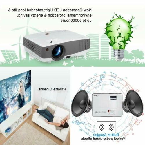 EUG Mini HD Home Theater USB Game