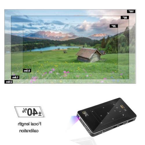 HD 4K Mini Bluetooth 1080P 8G Theater HDMI