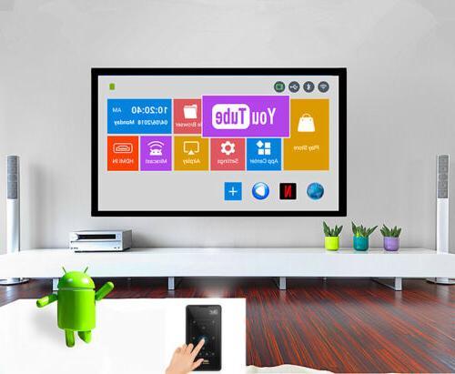 HD DLP Mini Bluetooth 1080P 8G Home Theater