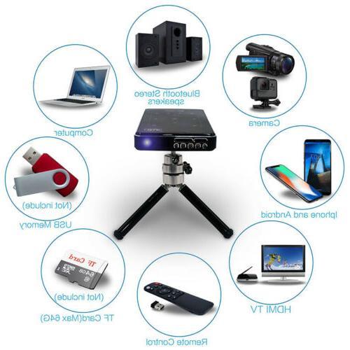 HD DLP Mini Bluetooth 1080P Theater
