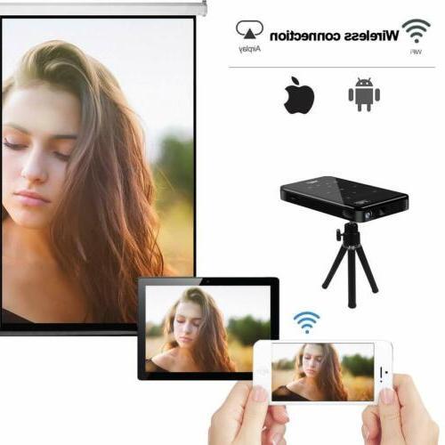 HD Mini WiFi Bluetooth Home Theater