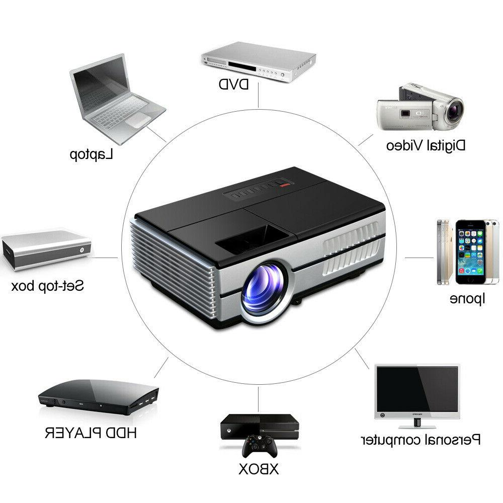 HD Portable Bluetooth Projector HDMI Airplay Kodi 960*640
