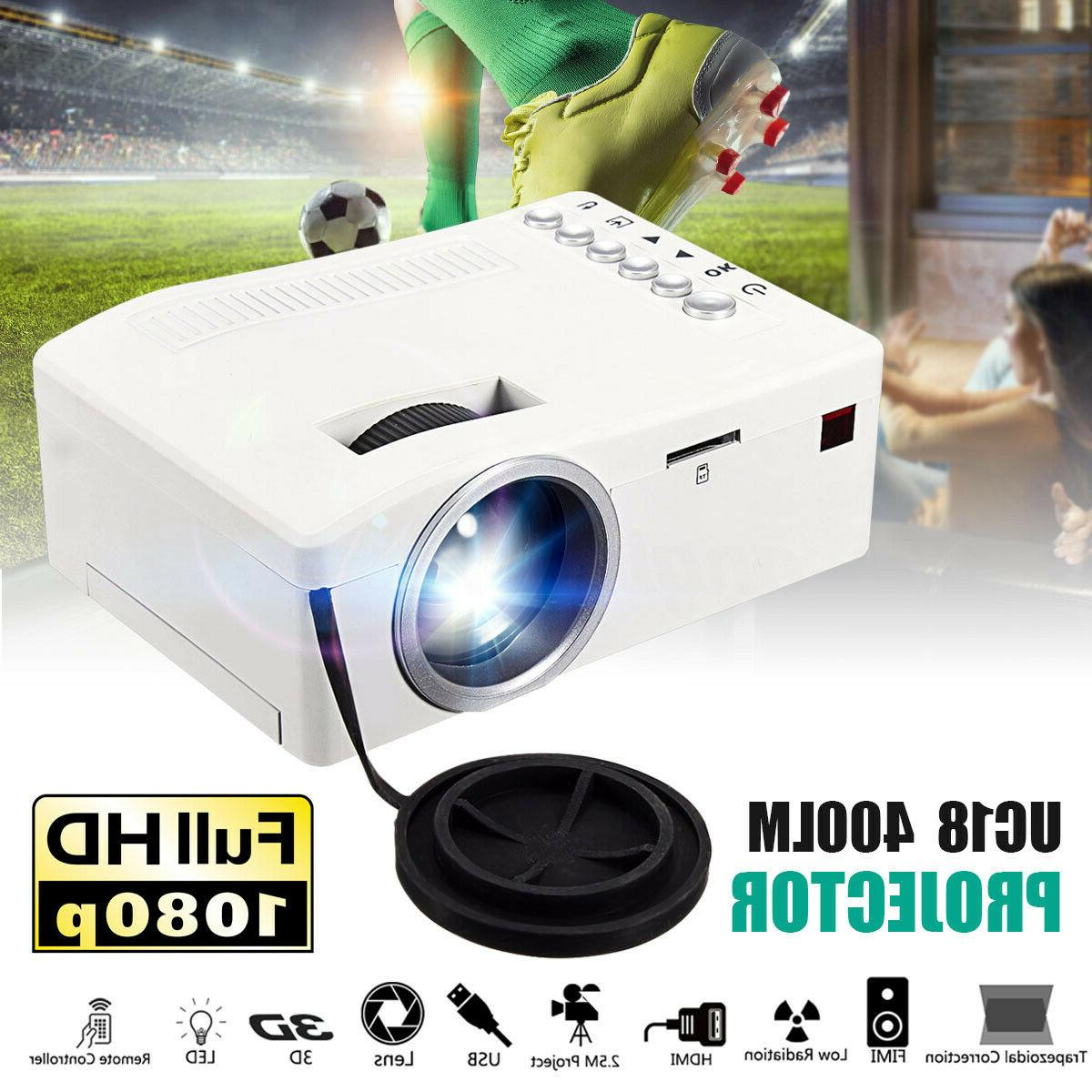 hd home theater led mini multimedia projector