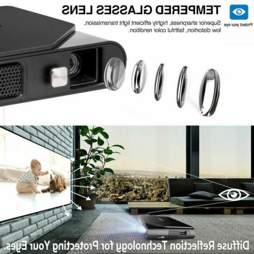 Mini 1080P Projector Office Portable Miracast HDMI