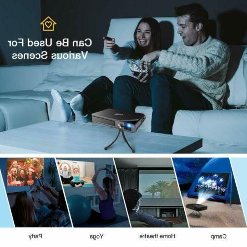 Mini WiFi DLP 1080P Office Portable Miracast Airplay