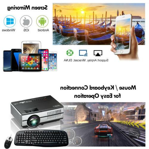 2800lm Smart Android 6.0 Wireless for Youtube US