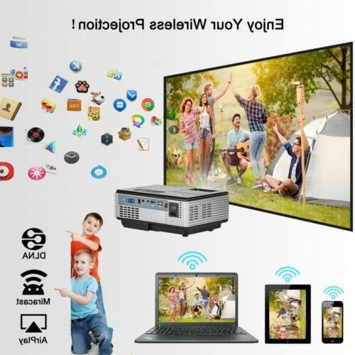 2800lumen HD Airplay Kodi