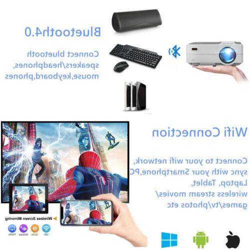 EUG FHD Smart WiFi Bluetooth Android 6.0 50,000hrs