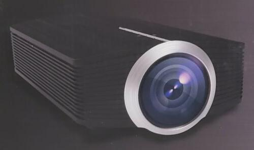 Home Deeplee DP500 Mini Projector 1500 Portable LED Video