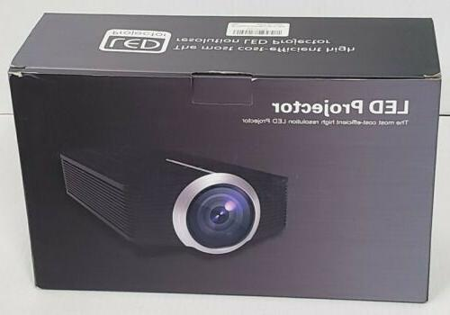 home projector dp500 mini projector 1500 lumen