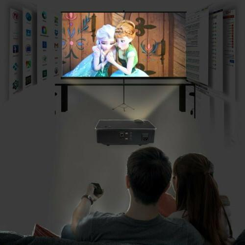 Home Theater Projector WIFI Smart Video