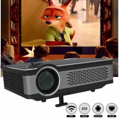 home theater projector usb sd av bluetooth