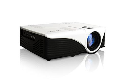 iDGLAX iDG-787W LCD LED Video Multimedia Mini Portable Proje