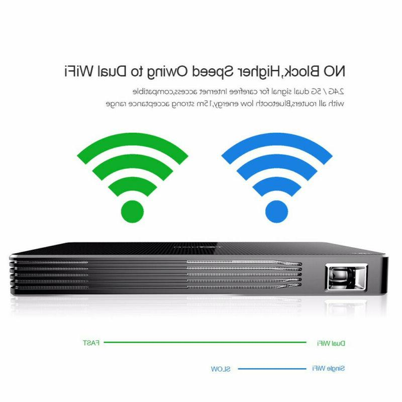4K Projector Android WiFi 1080P HDMI