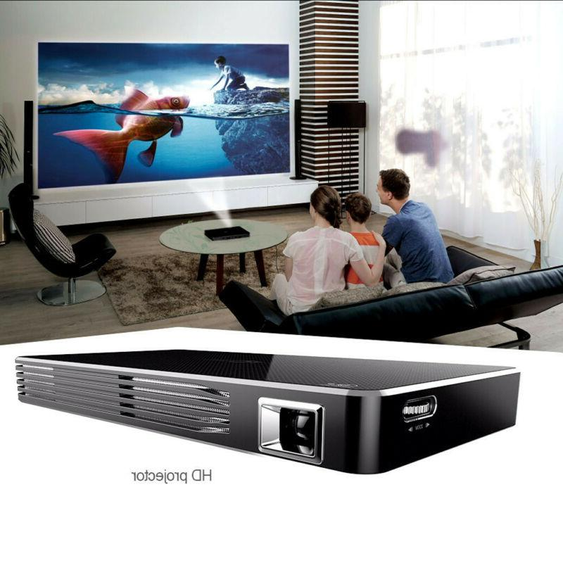 Mini Portable DLP Intelligent Projector With Built-in Rechar