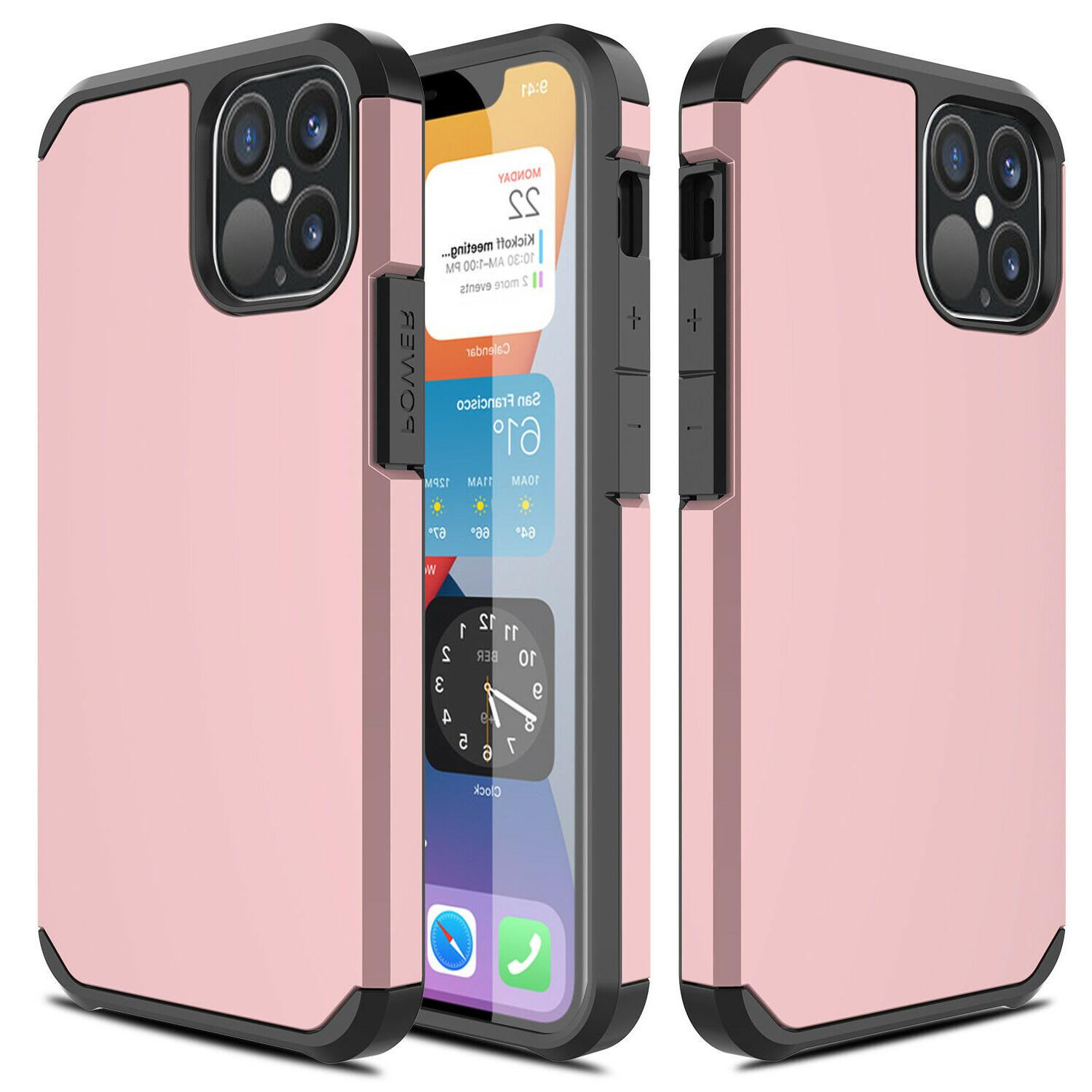 For iPhone 12 Case Cover/Screen Protector