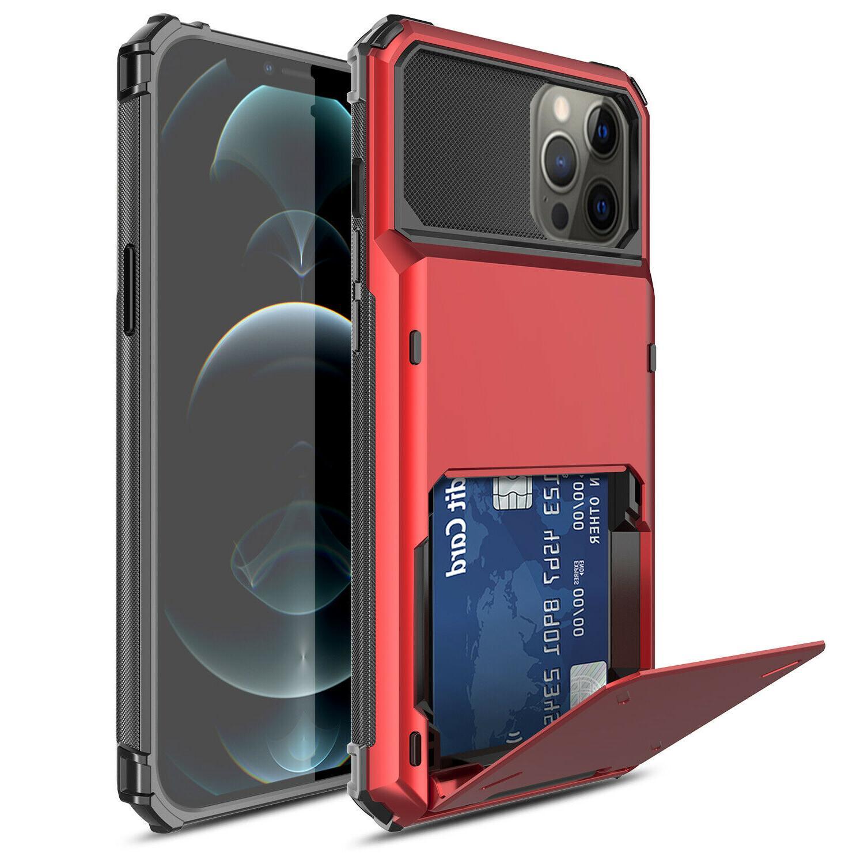 For iPhone Max,Mini Case Hybrid Holder Armor Cover