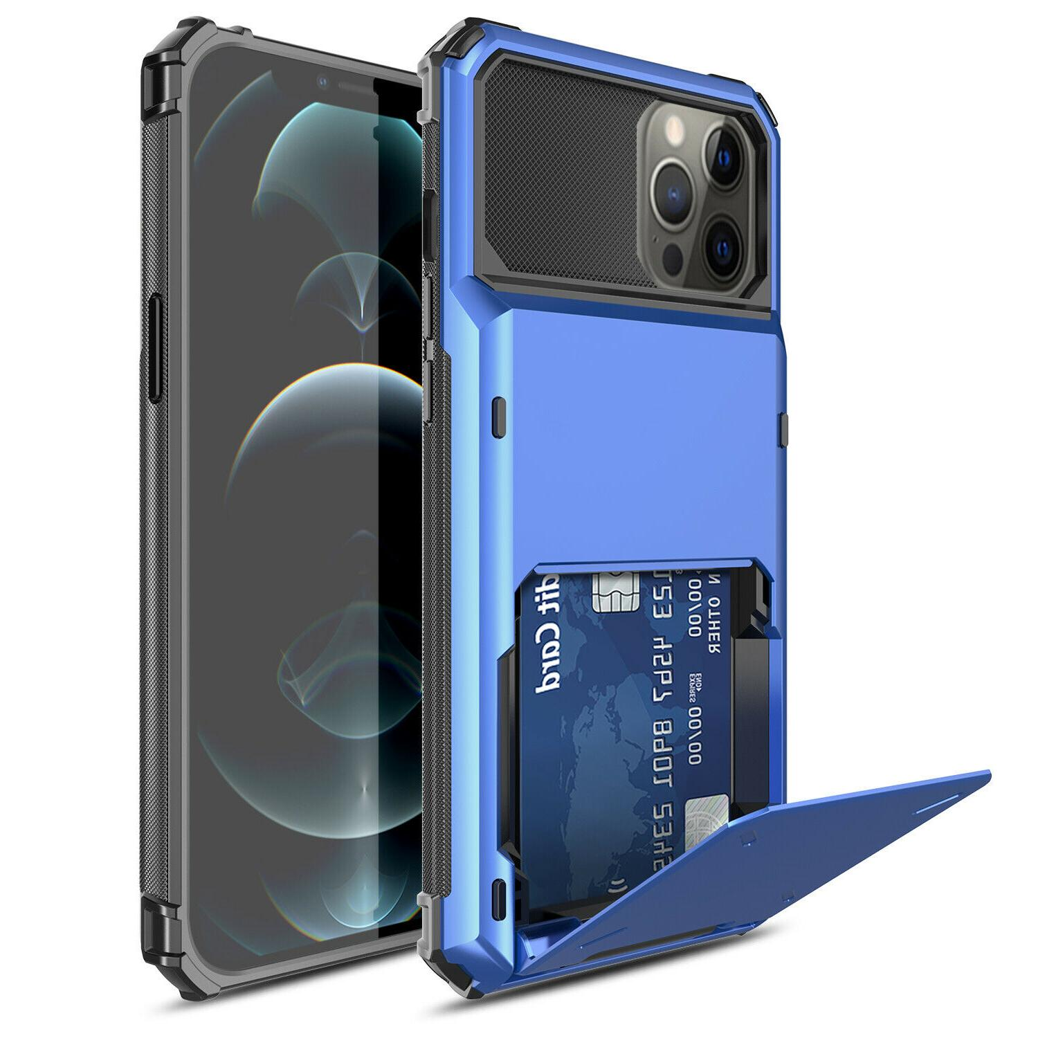 For iPhone Max,Mini Wallet Shockproof Cover