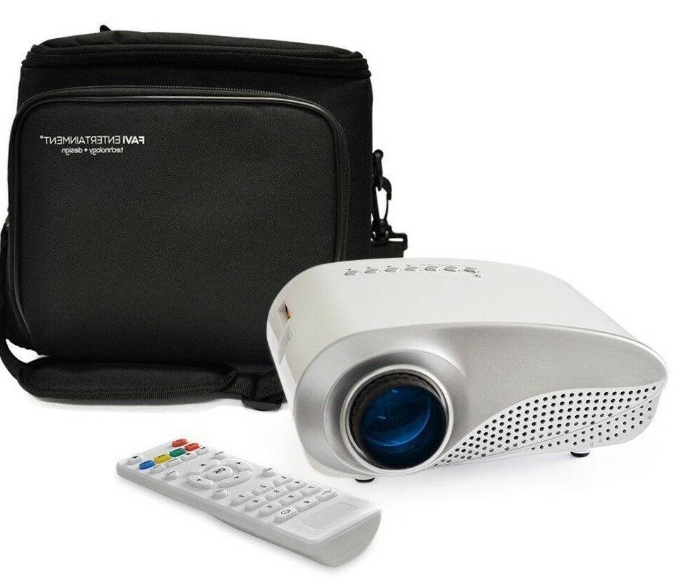 k1w led lcd hvga mini video projector