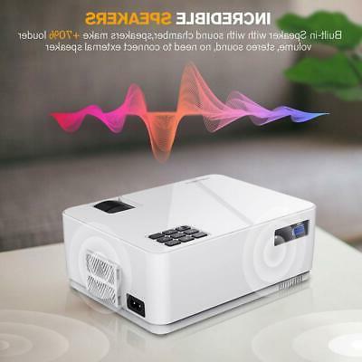 DBPOWER L21 Video 150 720P Mini Projector Built-in