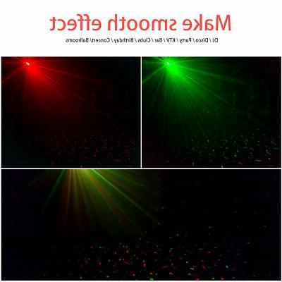 Laser Projector Mini Lighting Xmas Party Disco KTV Show