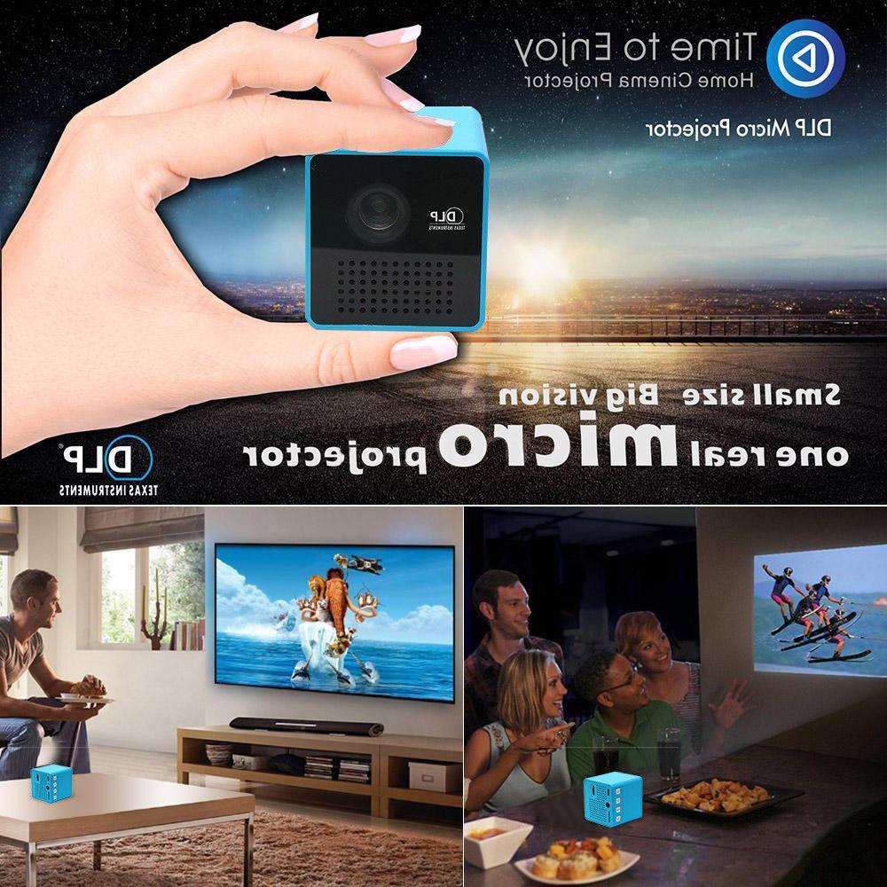Portable Pocket Multimedia HD 1080P