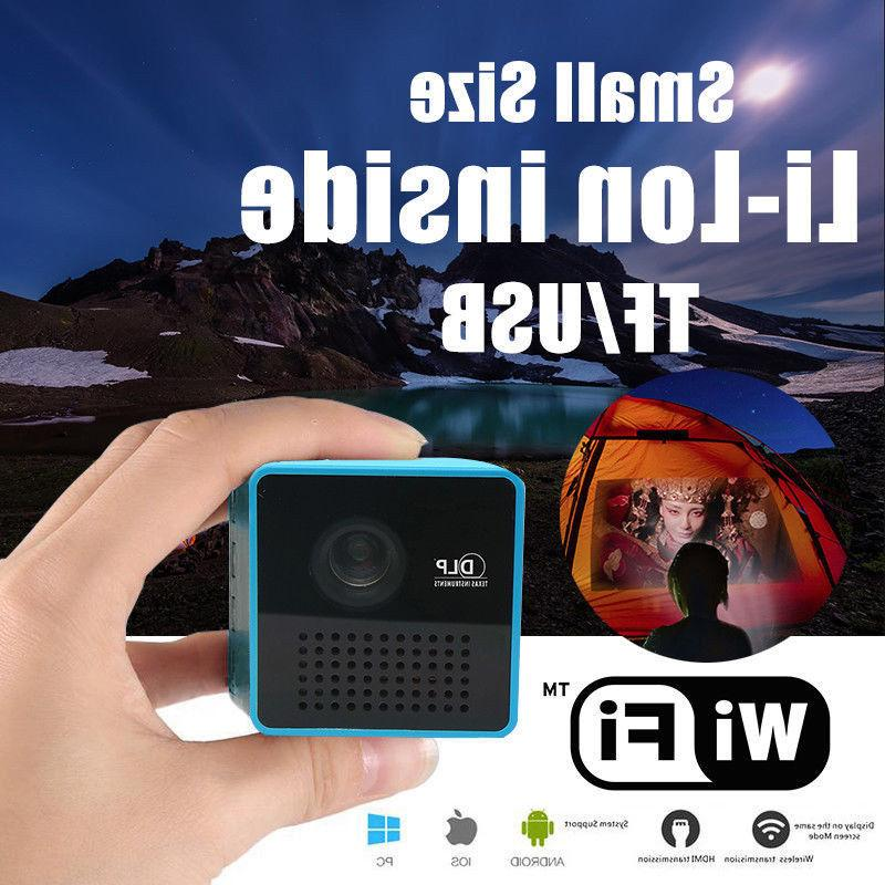 Latest DLP WIFI Mini Portable HD