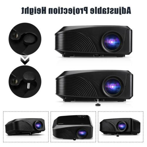 Mini Lumens 1080P Projector Phone Movie