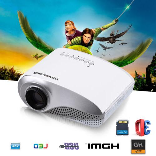 Excelvan LED/LCD Projector Home Theater