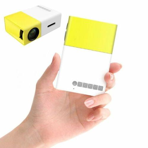 Led Mini High Portable HD Home A