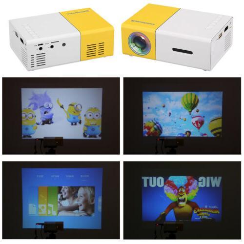 Led Mini Portable HD Theater USB DVD